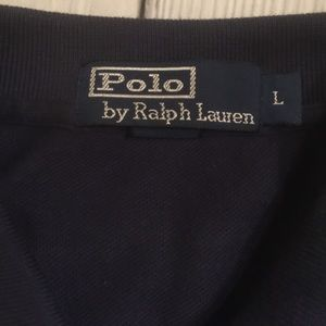 Polo by Ralph Lauren Shirts - Polo By Ralph Lauren Size L Navy Blue Polo Shirt